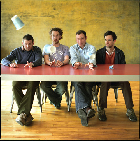 Guster was recreating its 1999 masterwork Lost And Gone Forever on the