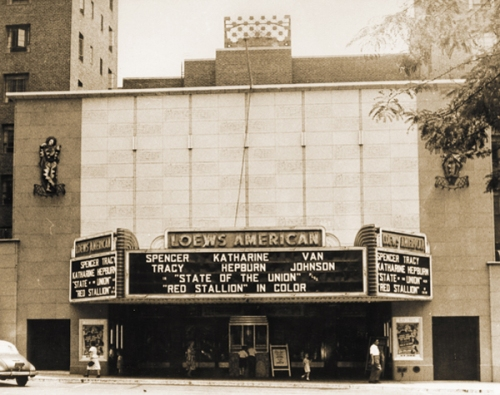 The Loew's American in The Bronx was a favorite theater for our guest blogger