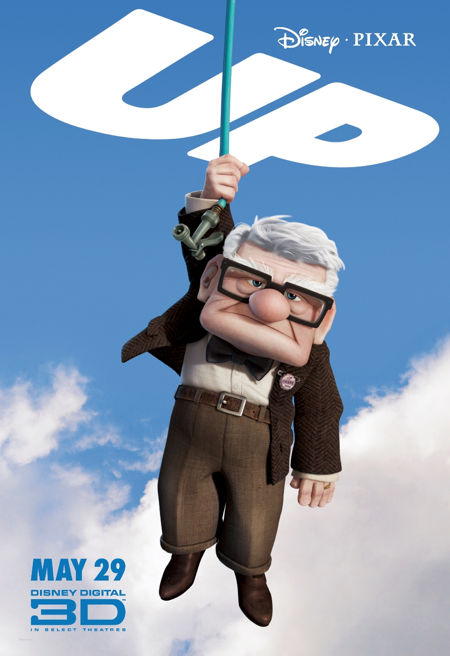 up-character-poster11Pixar Up Movie Poster