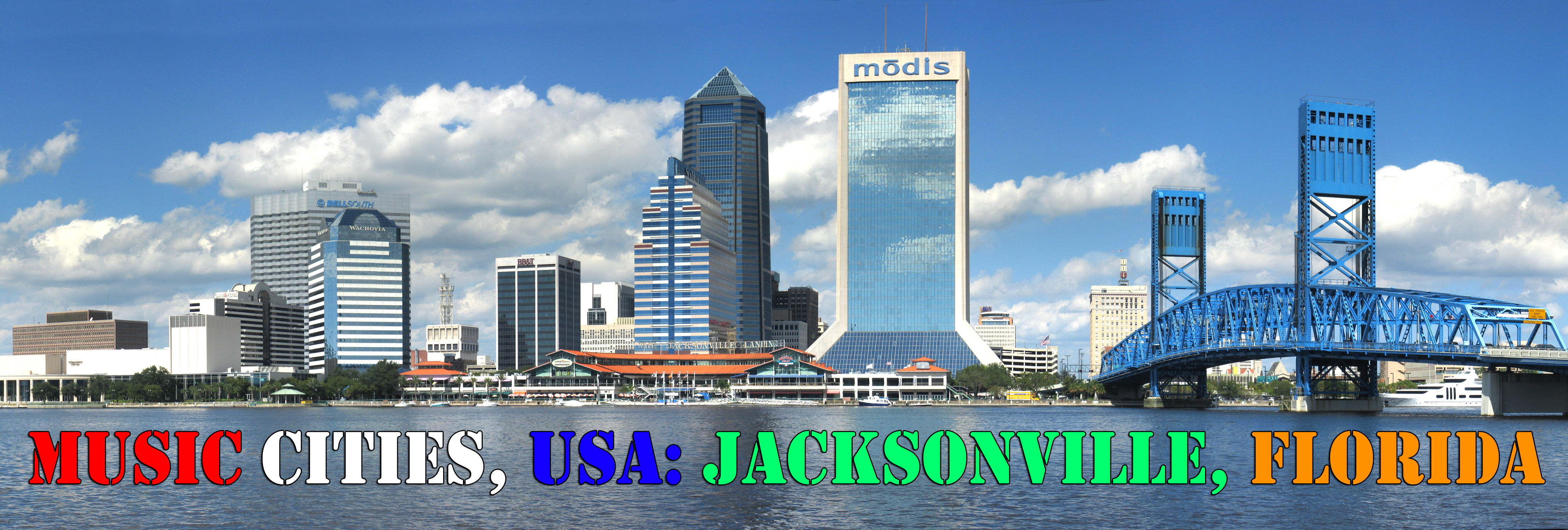 Music Cities USA Jacksonville The Pop Break - Famous cities in usa