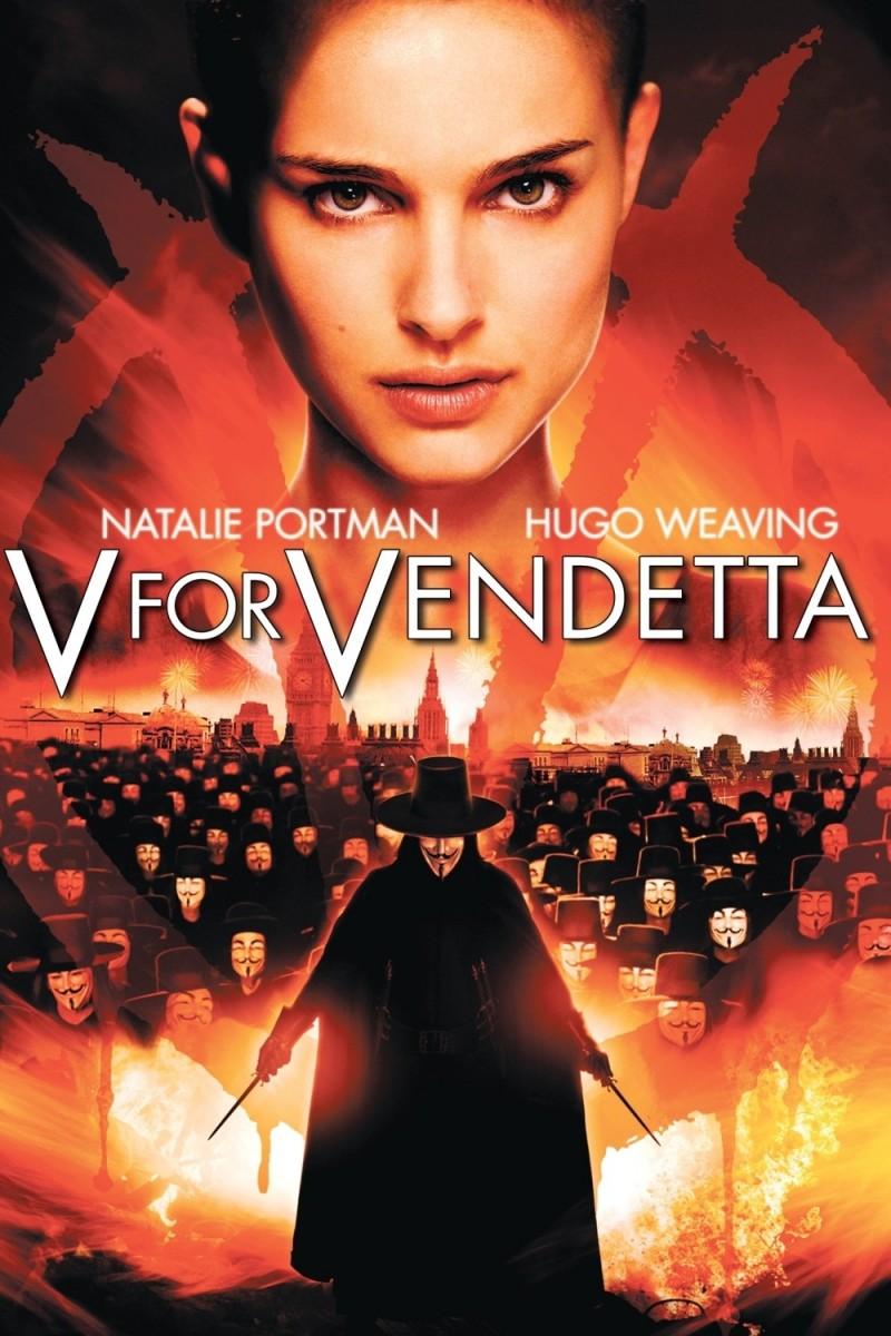 V for Vendetta  V For Vendetta Movie Poster