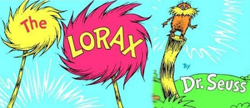 Cutting Book Once Ler Trees Lorax Down