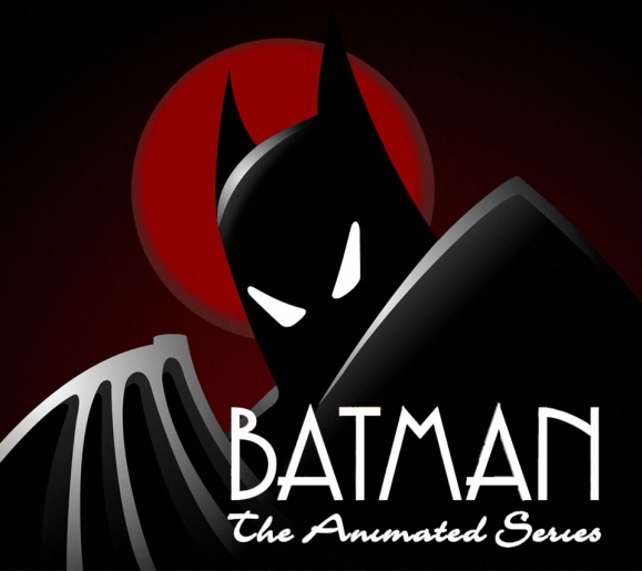 Image result for batman the animated series logo