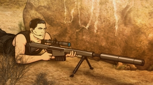 ARCHER: Episode 8, Season 4 Coyote Lovely (airing March 7, 10:00 pm e/p). Archer heads to the Mexican border to capture a notorious coyote, which is Spanish for coyote. Pictured: Sterling Archer (voice of H. Jon Benjamin). FX Network