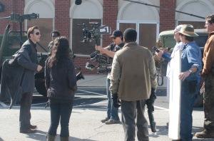 The Governor (David Morrissey) and Karen (Melissa Ponzio) - The Walking Dead - Season 3, Episode 16 - Photo Credit: Gene Page/AMC