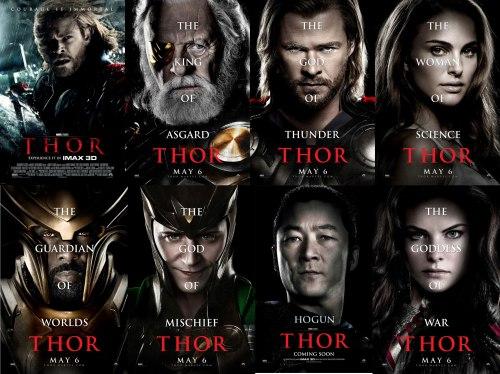 Thor Movie Poster -3