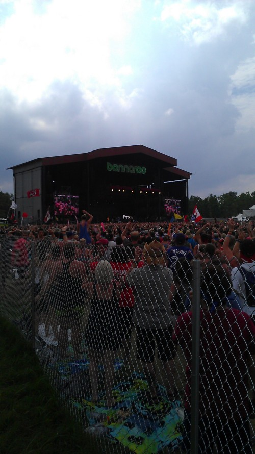 The crowd for Macklemore