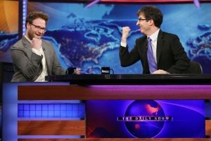 """John Oliver Takes Over As Summer Guest Host Of """"The Daily Show With Jon Stewart"""""""