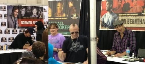 Walking Dead Cast Photos Courtesy of Philadelphia Wizard World Attendee Paul Congiusta